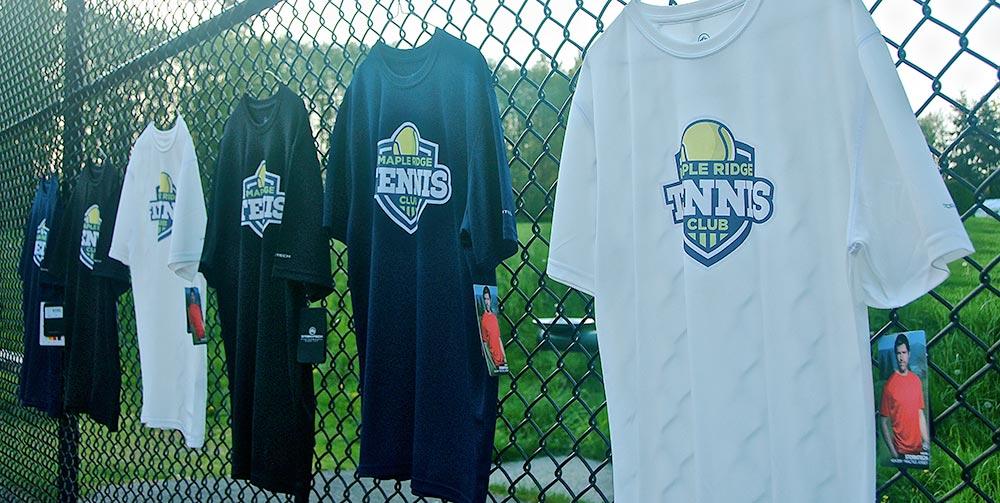 maple ridge tennis club shirts